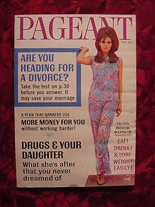 PAGEANT Magazine February 1967 RAQUEL WELCH +++