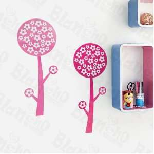 Pink Trees   Wall Decals Stickers Appliques Home Decor