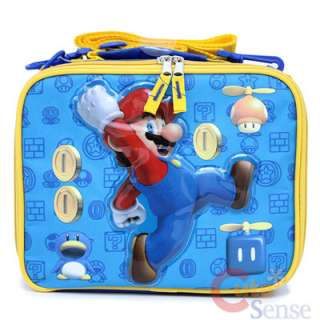 Super Mario Will Coin School Backpack Lunch Bag 5
