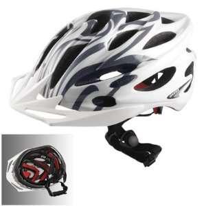 Como In Line Skateboard Rollerblade Road Bike Cycling Helmet White