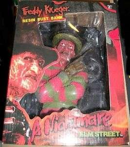 Nightmare on Elm Street Freddy Krueger Resin Bust Bank