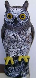 OWL BIRD DETERRENT POSSUM SCARE RODENT PEST DETERRANT