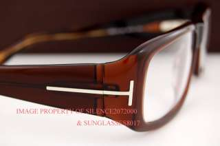 New Tom Ford Eyeglasses Frames 5113 050 BROWN for MEN