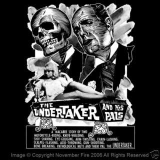 The Undertaker and His Pals Skull Biker Gang Fun Shirt