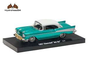 M2 Machines 1957 Chevrolet Bel Air ~ Drivers R7