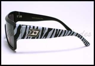 SQUARED MOB Style Retro FLAT TOP OVERSIZED Sunglasses MATTE GRAY