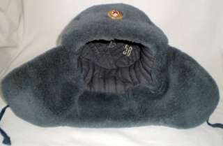 Russian Soviet Officer Army Military Winter Hat Ushanka