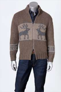 CUCINELLI SWEATER 100%CASHMERE PLUSH 12 PLY FULL ZIP M/50 eu NEW