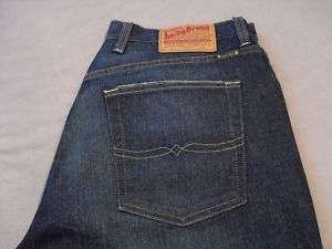 LUCKY BRAND JEANS MENS RELAXED STRAIGHT LEG SIZE 34 NEW