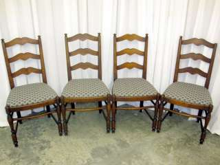Ladder Back Dining Room Chairs Great Cond Milwaukee Chair Co WI