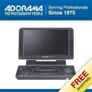 Panasonic 9 inch Portable DVD Player, QVGA 320 x 240 Resolution, Black