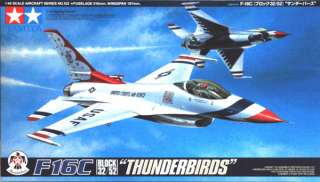 Tamiya 61102 F 16C THUNDERBIRDS 1/48 scale kit