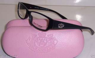 JUICY DRAMA QUEEN BLACK 0807 NEW Rx GLASSES