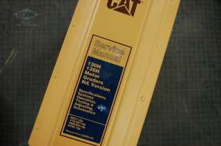 CAT Caterpillar 120H 135H Motor Grader Repair Shop Service Manual