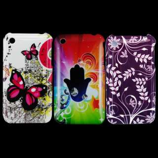 Luxury Design Style Hard Back Case Skin Cover For Apple iPhone 3 3G
