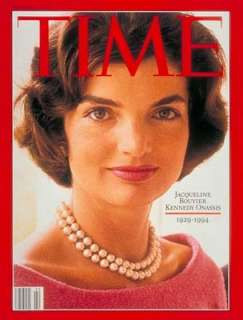Jackie Kennedy Onassis Pearls Franklin Mint Box inserts Faux Neglace