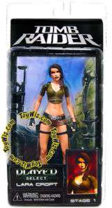 NECA Player Select Figure Lara Croft Tomb Raider