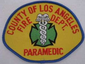 LOS ANGELES COUNTY FIRE PARAMEDIC EMERGENCY 51 1970S