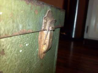 SK Sherman Klove 2 Drawer Vintage Tool Box Machinist Chest Mechanic No