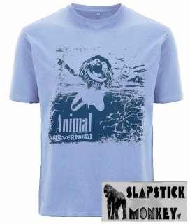 Animal Muppet Nevermind Nirvana parody t shirt funny **