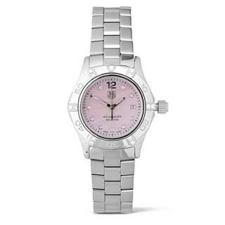 Home Accessories Watches Fine watches Aquaracer lady diamond dot pink