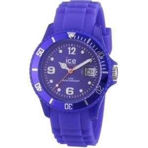 Ice Watch Unisex Armbanduhr Medium Big Sili Forever blau SI.BE.U.S.09