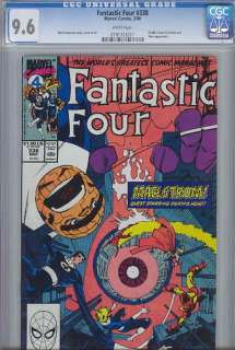Fantastic Four 338 CGC 9.6 Iron Man  Thor 1990
