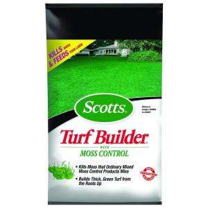 Scotts Turf Builder 25.29 lb. Fertilizer with Moss Control 33505 at