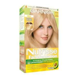 Garnier Nutrisse FarbSensation, 10.31 Helles Honigblond, 140 ml
