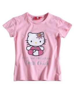 Hello Kitty T Shirt rosa  Bekleidung