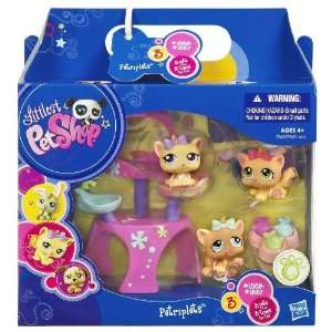 Littlest Pet Shop   Petriplets   3 Pack   Katzen Babies #1335 & #1336