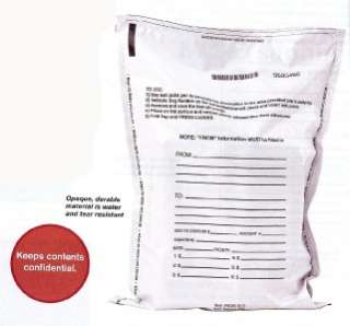 Bank Deposit Tamper Proof Bags Opaque Pack of 500 bags