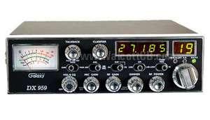 Galaxy DX959 40 Channel CB Radio AM/SSB FREQ TB SOLID STATE CITIZENS