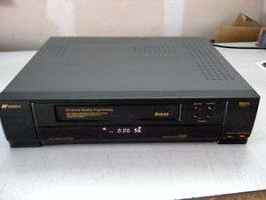 Used Sansui VHS Player/Recorder, model HQ ST37, 4 head, Auto tracking