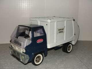 VIntage 1960s Tonka Sanitary Service Garbage Truck