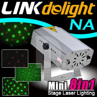 in 1 Mini G&R DJ Laser Stage Lighting Light Disco Party Club Show