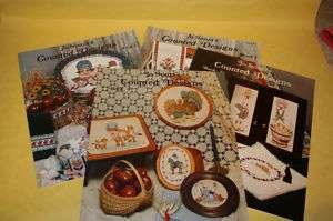 Lot of 4 Jo Sonjas Counted Design Cross Stitch books