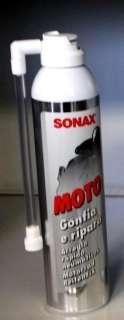 20,97€/1L) SONAX Motorrad Reifen fix Repair Tire Fit Pannenspray