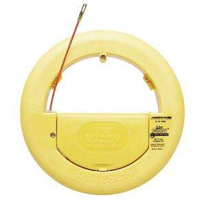 Jameson 150 ft. Fiberglass Fish Tape with Accessory Kit 8 18 150K at