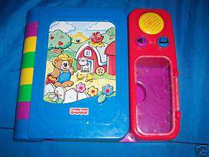 Fisher Price Toddlerz Farmer Bear Puzzle Talking Book