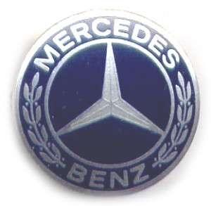 Mercedes Benz Logo Brosche 80er Jahre