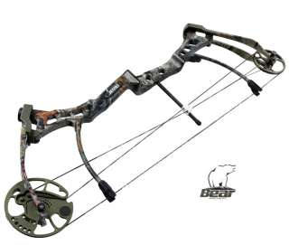 Bear Siren 50# RH Camo Compound Bow