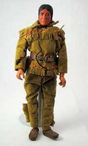 Action Figure Doll Gabriel Tonto From Long Ranger 10 Very Nice