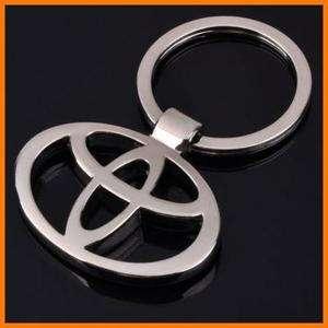 TOYOTA Car Logo Standard Zinc Alloy Metal KeyChain KeyRing KeyFob