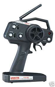 Tactic TTX240 2 channel pistol Radio System 2.4GHz !