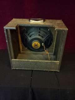 Univox vintage single speaker cabinet