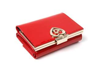 Women Genuine Leather Trifold Wallet Coin Purse G0001US