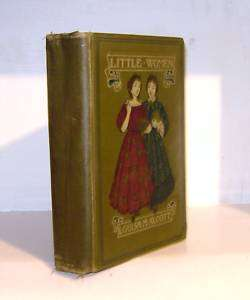 LITTLE WOMEN, Alcott, 1919, Illustrated