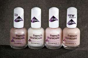 Rimmel Lycra French Manicure Nail Color CHOOSE COLOR