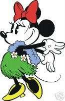 Minnie Mouse Hula #26 T Shirt Iron on Transfer 8x10